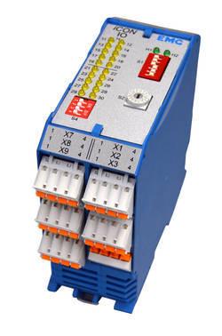 EMG纠偏电源模块外壳可直接固定在盖板导轨上