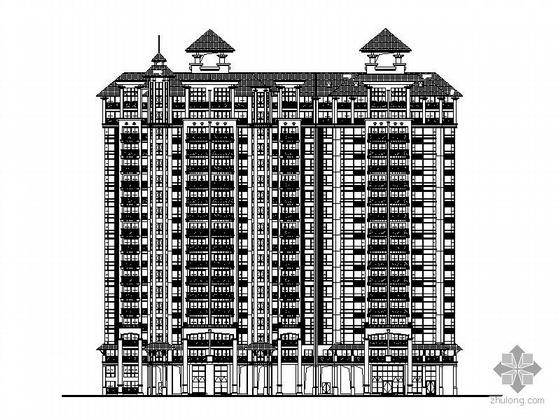 [广州]某小区高层住宅楼群建筑施工图