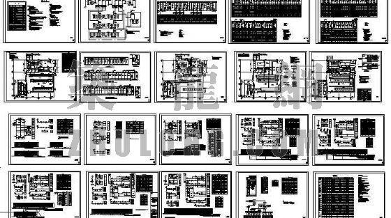 商场10KV变电所图纸