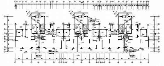 江苏某十一层住宅给排水全图