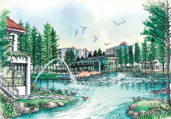 滨湖小区景观规划设计方案-3