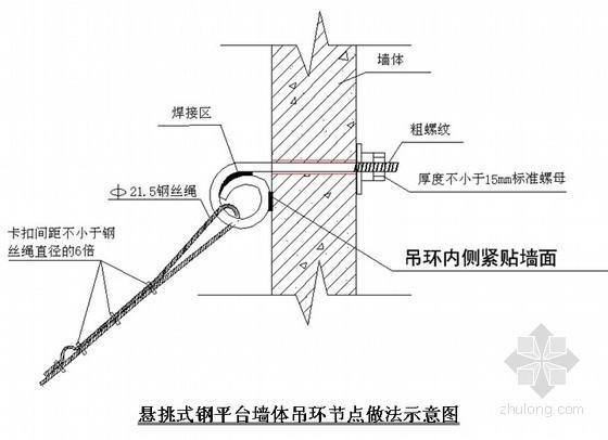 [北京]安置房卸料平台搭设施工技术交底
