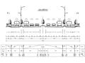 城市主干道工程全套施工图设计294张(道排桥梁交安绿化)