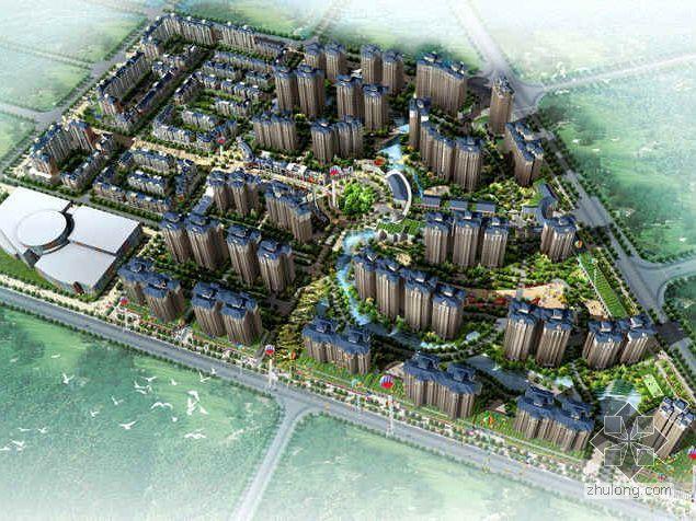 [宜宾]尊贵地段纯欧式风情建筑住宅区设计分析