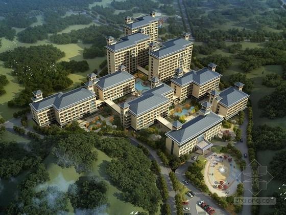 [广东]城市生态养老服务中心(敬老院)设计方案文本(含CAD)