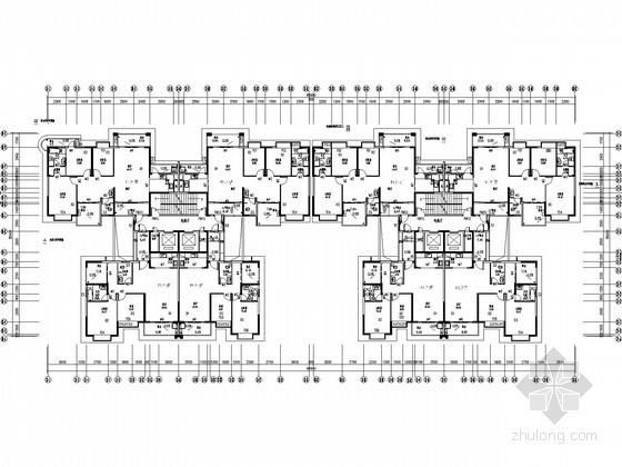 [广西]超高层住宅楼太阳能热水系统给排水施工图纸(光伏系统)