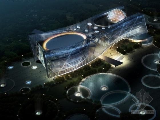 [山东]某3层展览馆建筑设计方案文本(含PPT)