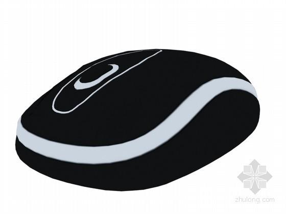 无线鼠标3D模型下载