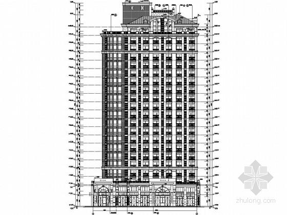 [北京]21层剪力墙结构软件公司公寓结构施工图(含建筑图)