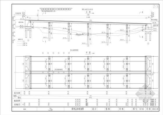 收费站大桥上部结构全套施工图(33张)