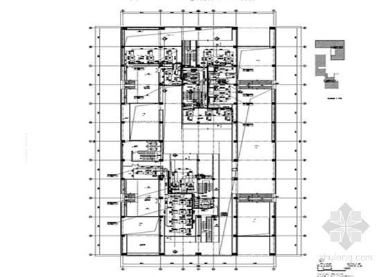 [四川]多层办公楼通风空调及防排烟系统设计施工图