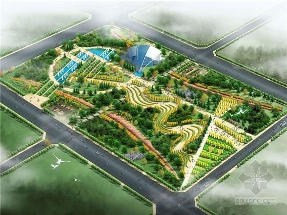 """[河南]""""万民同乐""""城市中心文化公园景观设计方案"""