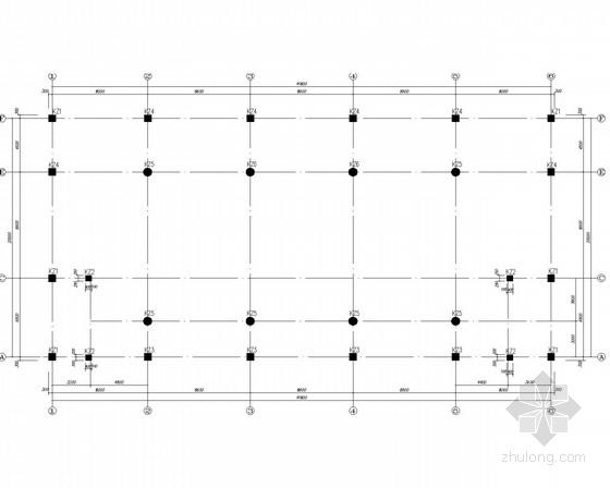 宾馆会议楼框架结构施工图