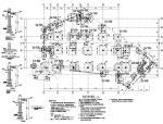 [山东]三层框架结构幼儿园结构施工图(网站首例装配式结构图)