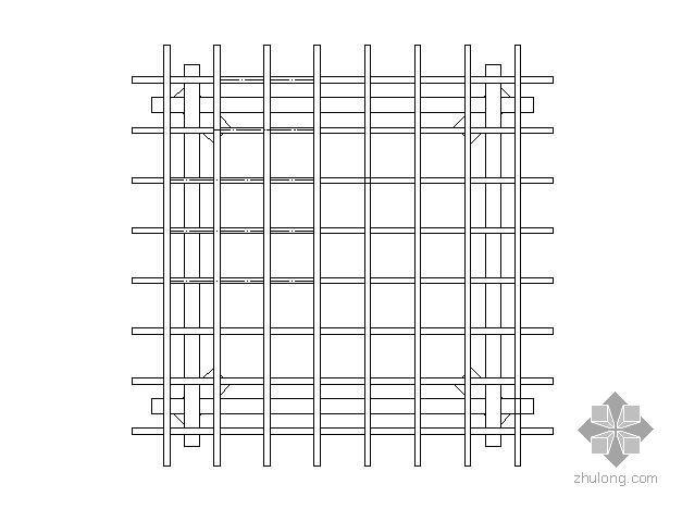 立方花架施工图