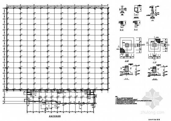 某厂房及办公楼结构施工图