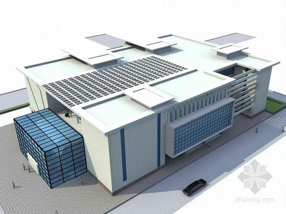 某高校园图书馆方案设计