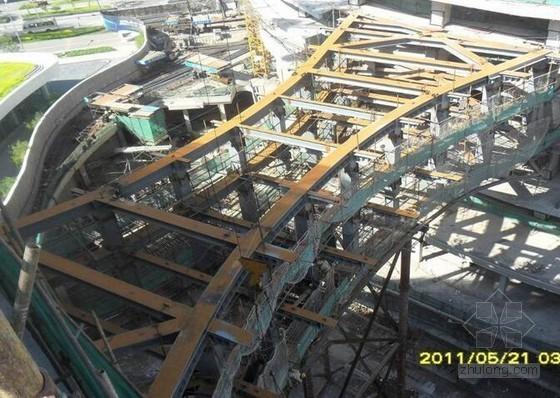 商业综合体项目钢结构深化设计、加工及安装技术总结