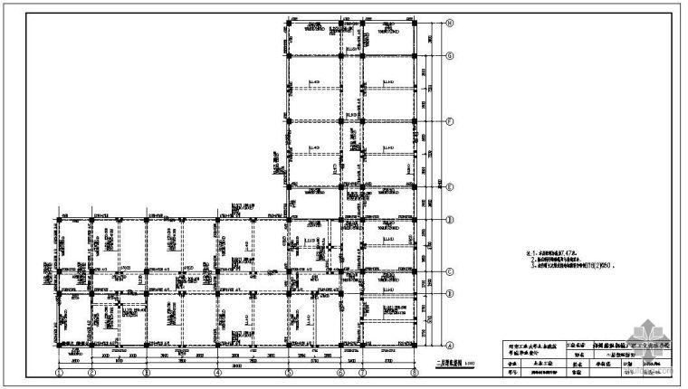 [学士]郑州某机械厂职工文化综合楼毕业设计图纸
