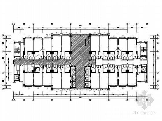 [苏州]五星级精品高档酒店室内装修施工图(含效果)