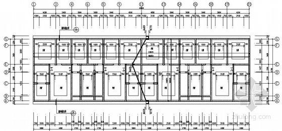 [湖北]搬迁小区7层砖混结构房屋结构施工图