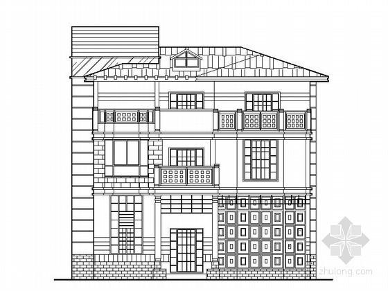 [武夷山]某四层特色别墅建筑施工图(421平方米)