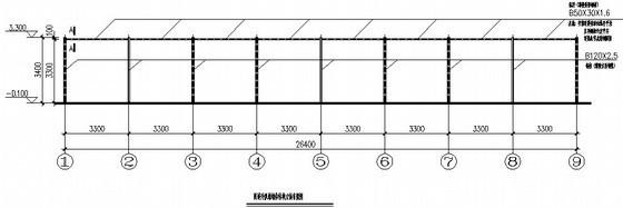 6米跨钢屋架结构施工图