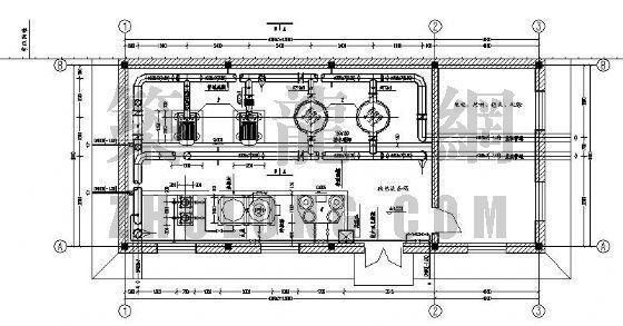 热力管网及换热站设备安装设计图