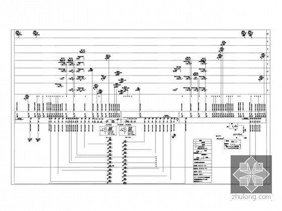 [湖北]全球首座室内电影乐园强电施工图纸(国内外顶级设计院审图意见)-0.4KV动.照变配电干线图