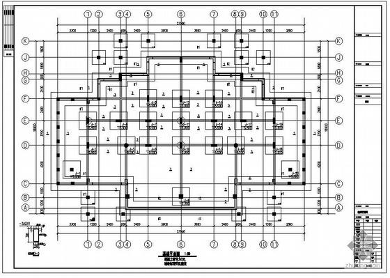 鄂尔多斯某A棟别墅结构设计图(含PKPM计算书、效果图)