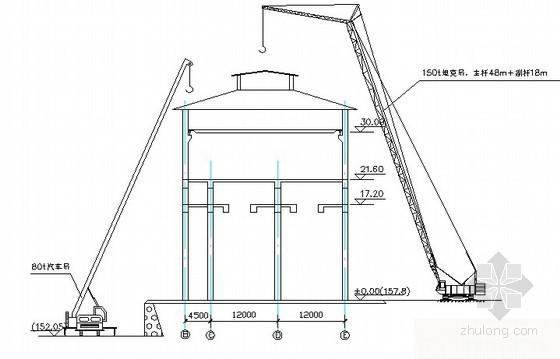 钢结构厂房施工方案