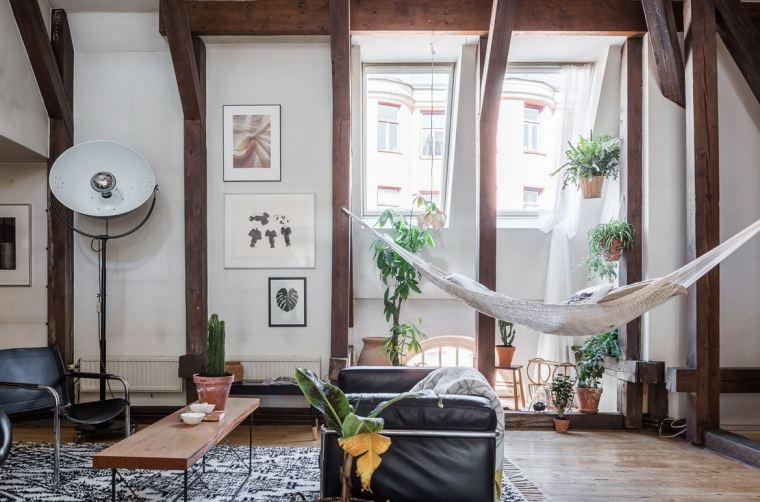 斯德哥尔摩顶层公寓改造-1 (1)
