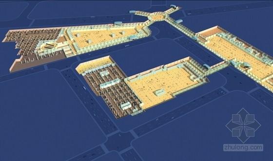 [内蒙古]地下空间商业建筑概念设计方案文本
