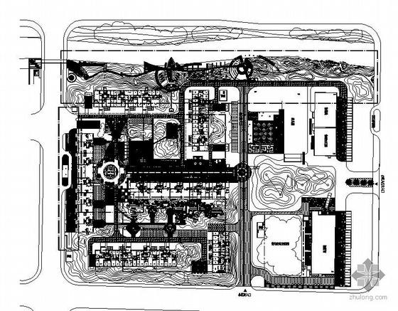 南京国际街区全套景观设计施工图