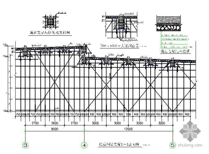 福建某框架结构厂房高支模施工方案