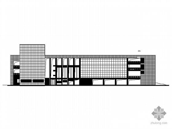 [云南]某大学城学生会堂、活动中心施工套图