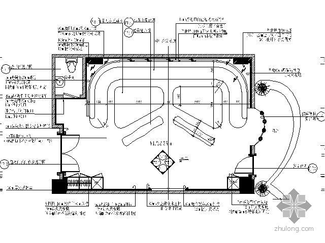 国际娱乐会所VIP房施工图Ⅳ