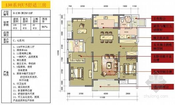 某地产住宅设计优秀户型研究