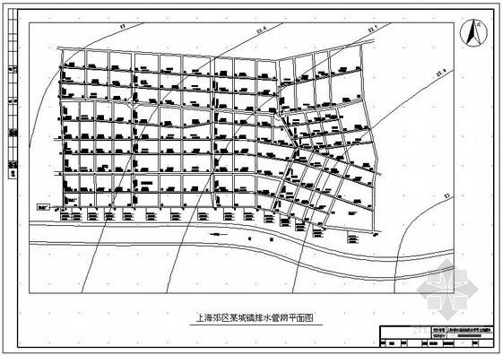 [学士]上海某排水管网工程课程设计