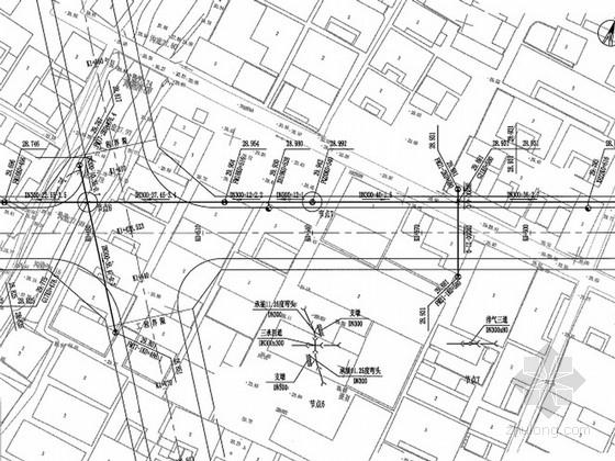 [安徽]城市道路改建工程给排水及弱电施工图设计