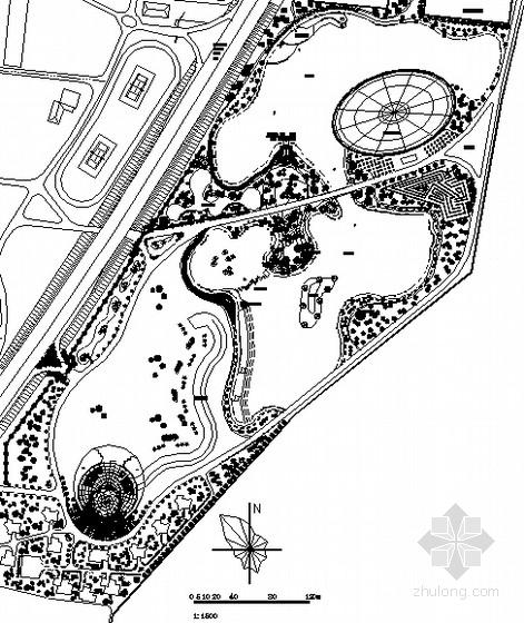 [大连]农业生态旅游园园林景观工程施工图