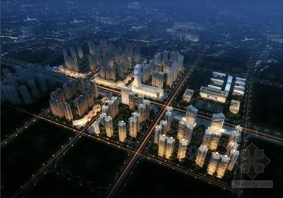 [成都]现代artdeco风格高档城市综合体建筑设计方案文本(含景观设计)