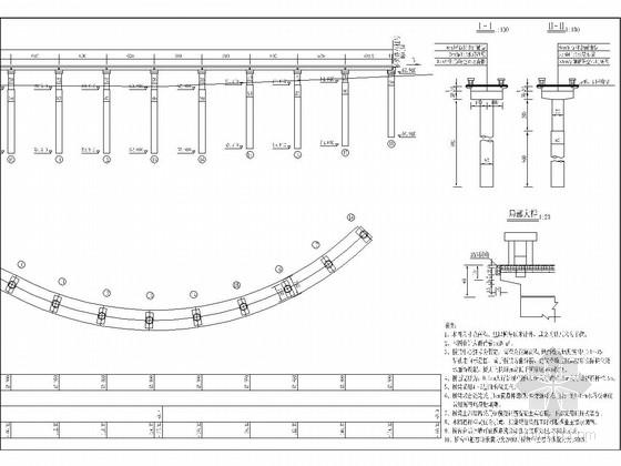 18-6m简支现浇板桥施工图设计(景观漫水桥)