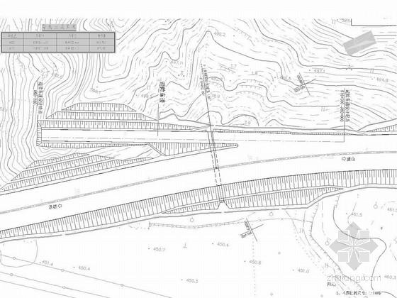 公路避险车道设计图CAD