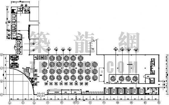 某二层酒店装修图(中式设计)