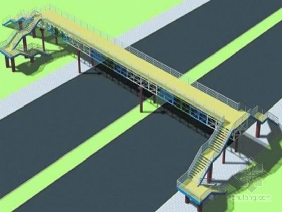 [福建]临时人行钢便桥施工组织设计
