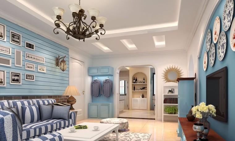 92平地中海风格设计方案