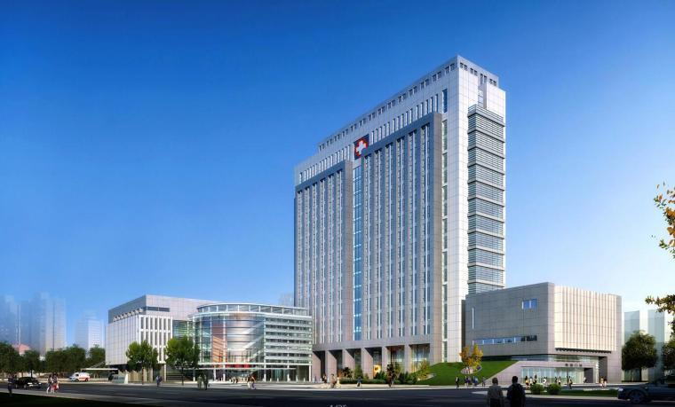 [江苏]如皋人民医院建筑设计方案(CAD+文本)