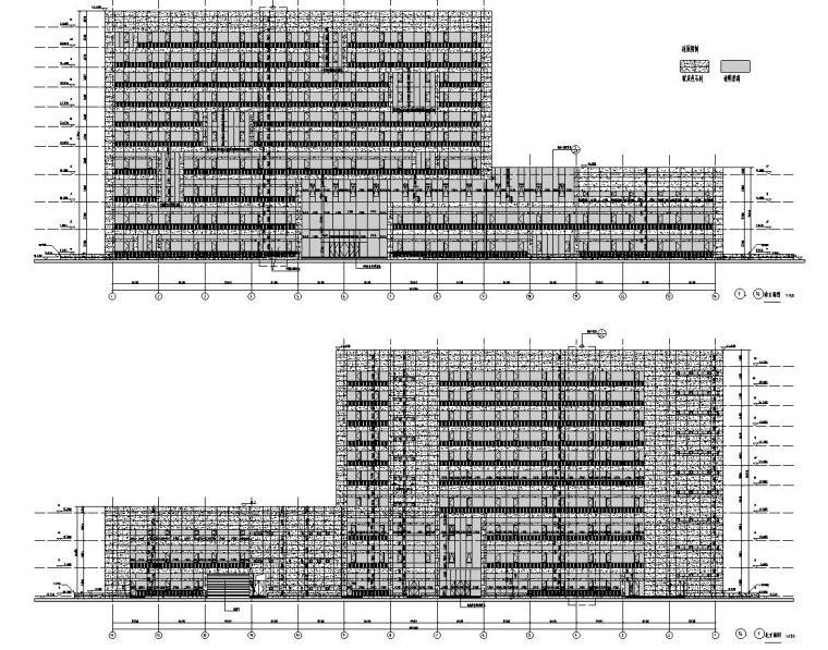 [安徽]某城市质监局建筑施工图设计图_3