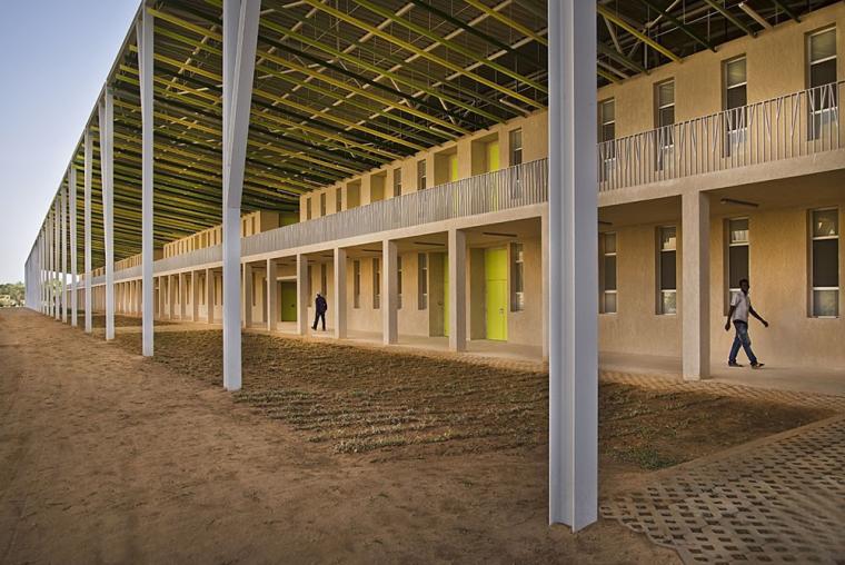 塞内加尔AliouneDiop大学教学楼-塞内加尔Alioune Diop大学教学楼实景图 (6)